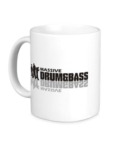 Керамическая кружка Massive Drum&Bass