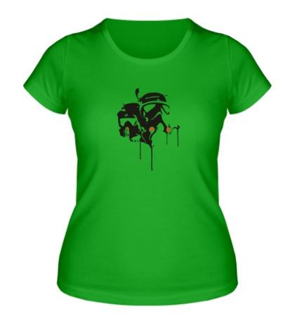 Женская футболка Neuro Bots