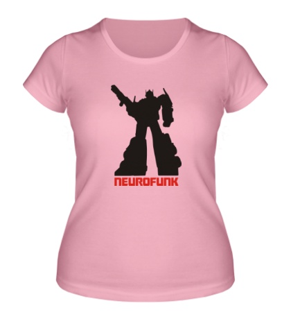 Женская футболка Neurofunk Autobot