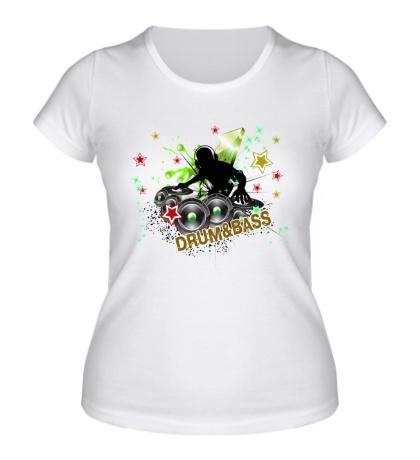 Женская футболка Real DnB