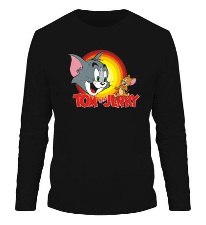 Мужской лонгслив Tom & Jerry