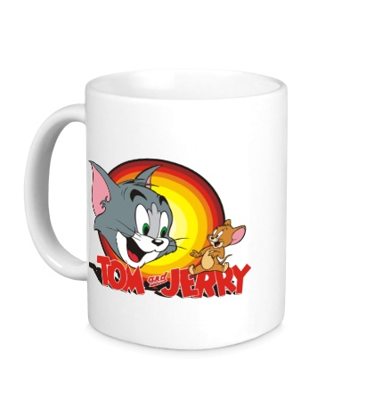 Керамическая кружка Tom & Jerry