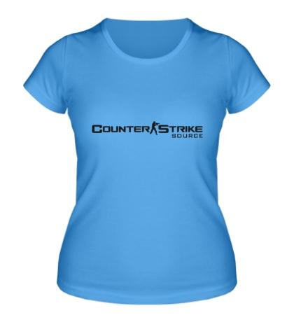 Женская футболка Counter-Strike: Source Logo