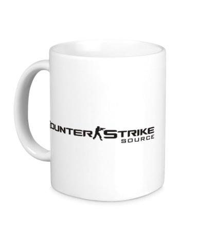 Керамическая кружка Counter-Strike: Source Logo