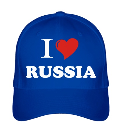 Бейсболка I love RUSSIA
