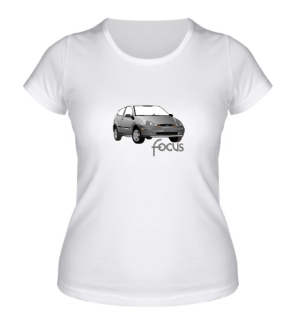 Женская футболка Ford Focus