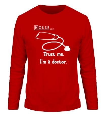 Мужской лонгслив House MD: Trust me