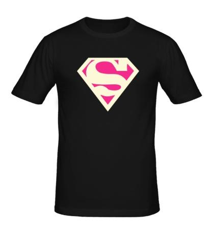 Мужская футболка Acid Superman