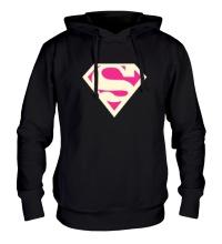 Толстовка с капюшоном Acid Superman