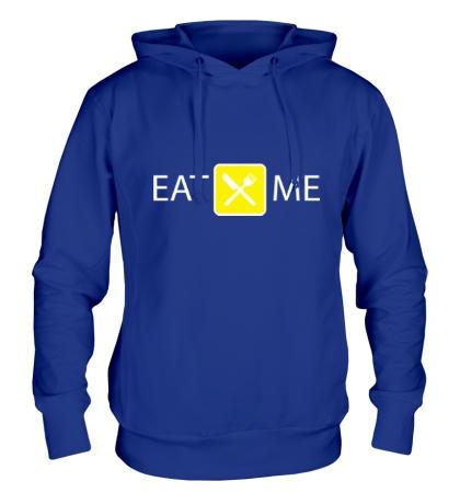 Толстовка с капюшоном Eat Me