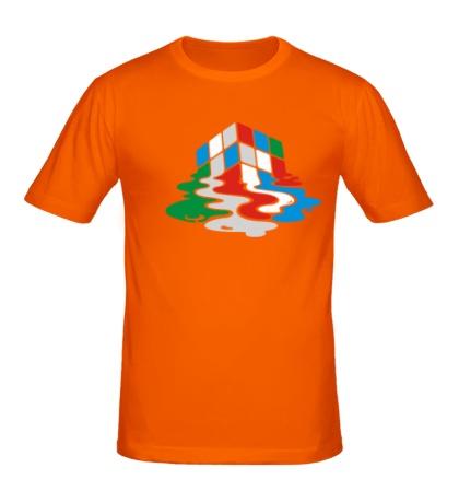 Мужская футболка Кубик рубика