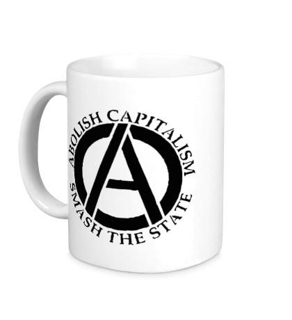Керамическая кружка Abolish Capitalism