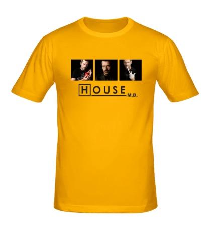 Мужская футболка House MD: Poster