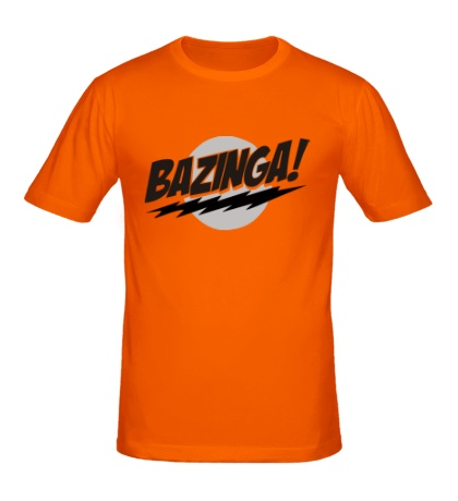 Мужская футболка Bazinga