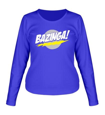 Женский лонгслив Bazinga