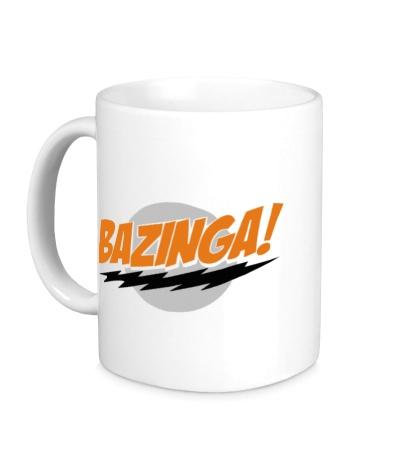 Керамическая кружка Bazinga