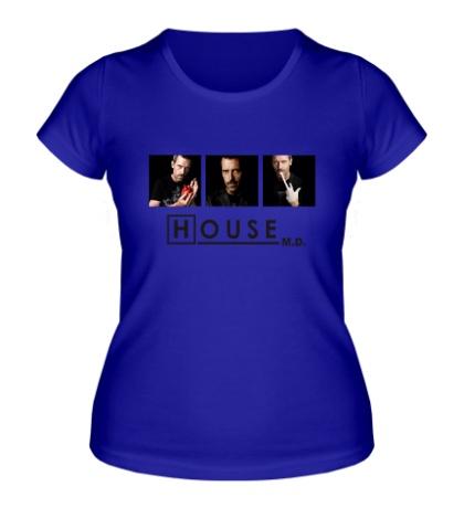 Женская футболка House MD: Poster
