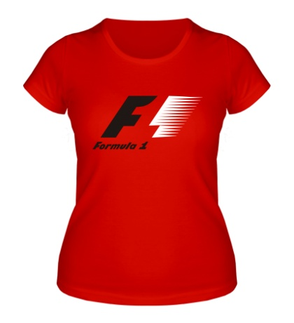 Женская футболка Formula 1