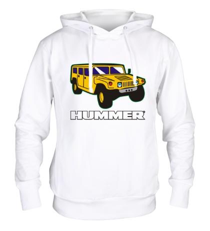 Толстовка с капюшоном Hummer Auto