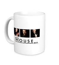 Керамическая кружка House MD: Poster
