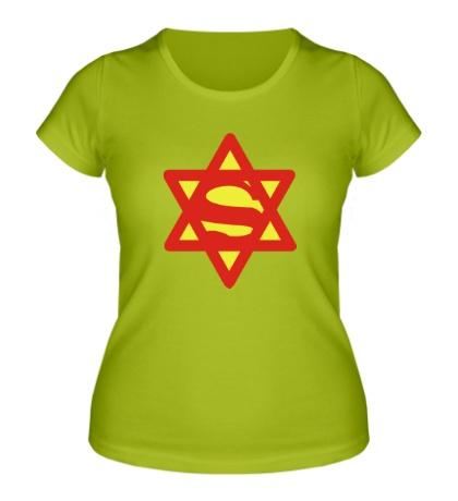 Женская футболка Супер Еврей