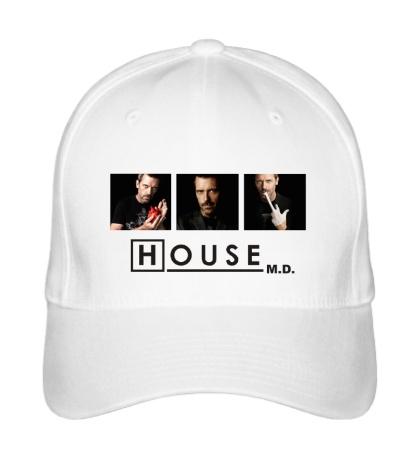 Бейсболка «House MD: Poster»