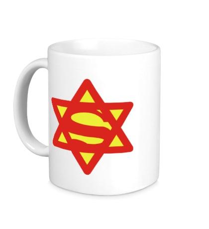 Керамическая кружка Супер Еврей