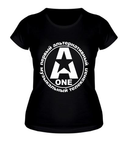 Женская футболка A-ONE