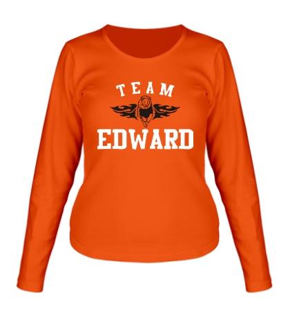 Женский лонгслив Team Edward