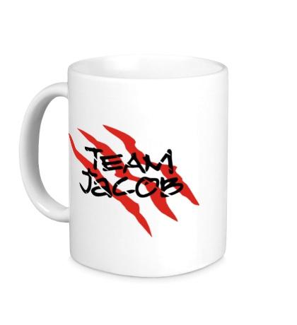 Керамическая кружка Team Jacob