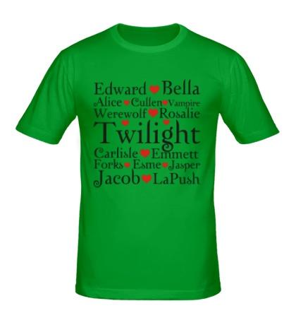 Мужская футболка Twilight Love
