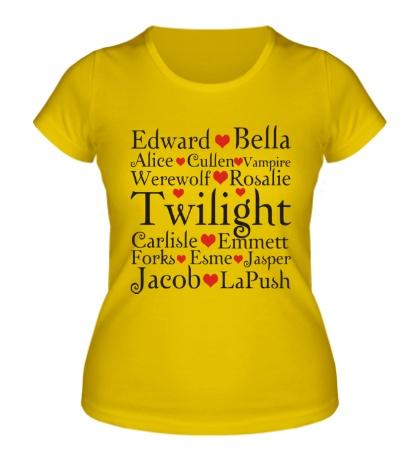 Женская футболка Twilight Love
