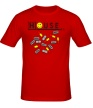 Мужская футболка «House MD: Smile Pills» - Фото 1