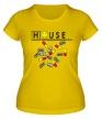 Женская футболка «House MD: Smile Pills» - Фото 1