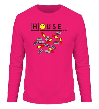Мужской лонгслив «House MD: Smile Pills»