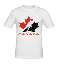 Мужская футболка Canada Hockey
