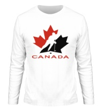 Мужской лонгслив Canada Hockey