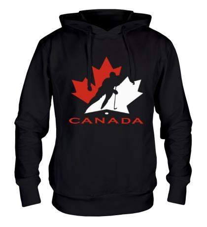 Толстовка с капюшоном Canada Hockey
