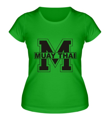 Женская футболка Muay Thai Symbol