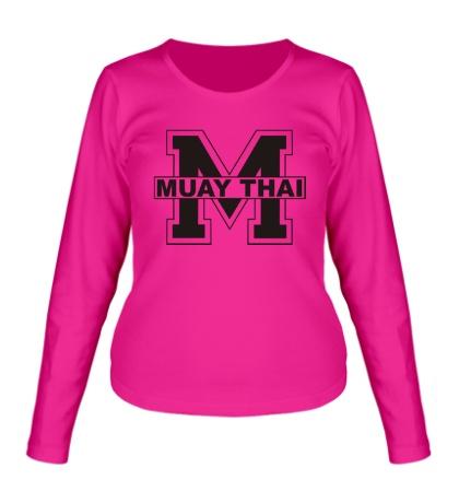 Женский лонгслив Muay Thai Symbol