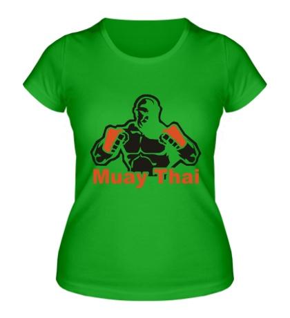 Женская футболка Muay Thai Power