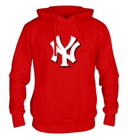 Толстовка с капюшоном Нью-Йорк Янкиз