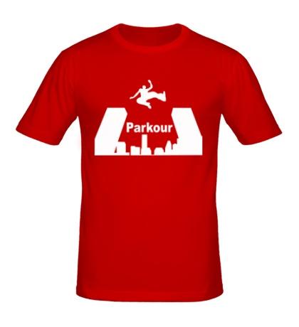 Мужская футболка Parkour