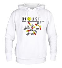 Толстовка с капюшоном House MD: Smile Pills