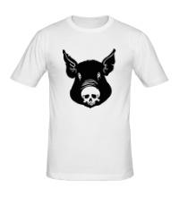 Мужская футболка Свин