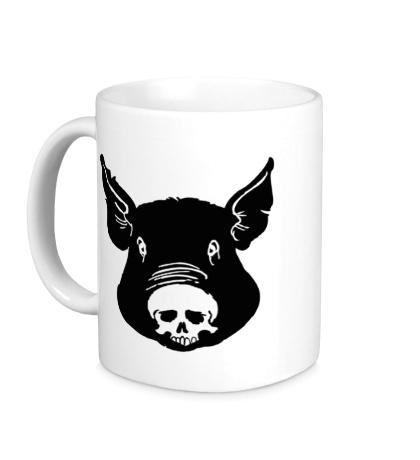 Керамическая кружка «Свин»