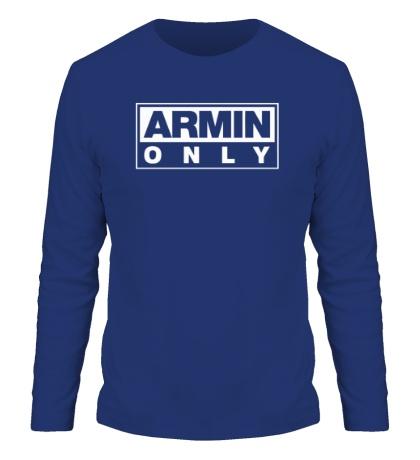 Мужской лонгслив Armin only