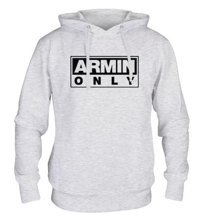 Толстовка с капюшоном Armin only