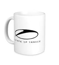 Керамическая кружка A state of trance