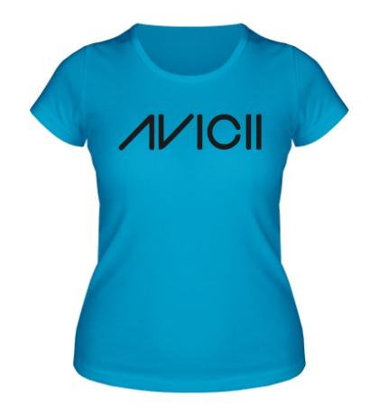 Женская футболка Avicii